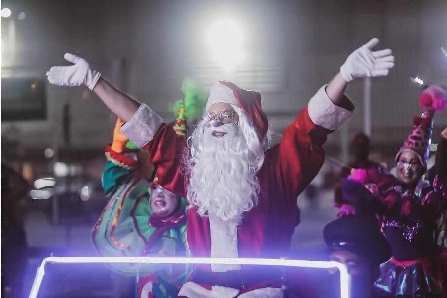 Chegada do Papai Noel será transmitida ao vivo no G1 Bahia