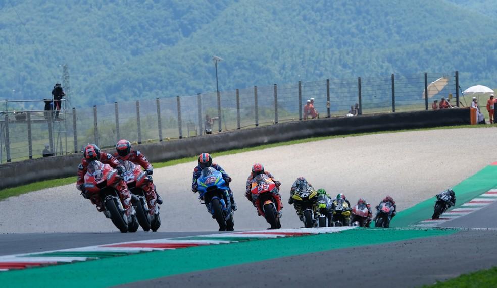 MotoGP em Mugello — Foto: REUTERS/Rafael Marrodan/Photocall3000