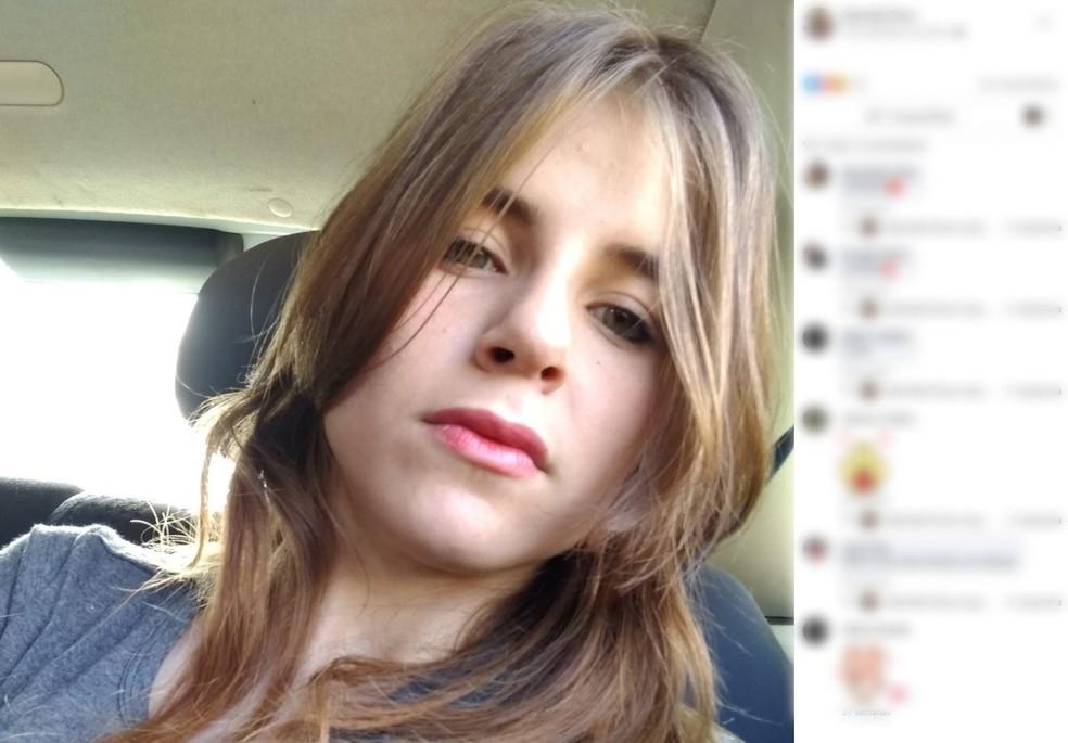 Jovem de 21 anos morreu engasgada em Jundiaí — Foto: Reprodução/Facebook