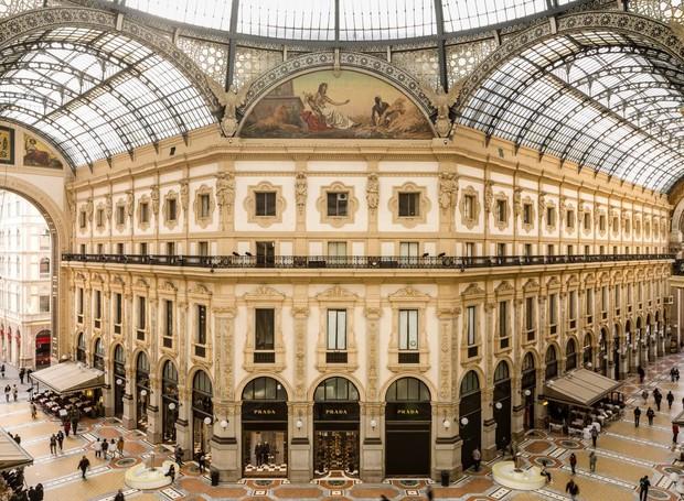Galleria Vittorio Emanuele II é repleta de obras de arte (Foto: Getty Images/ Reprodução)