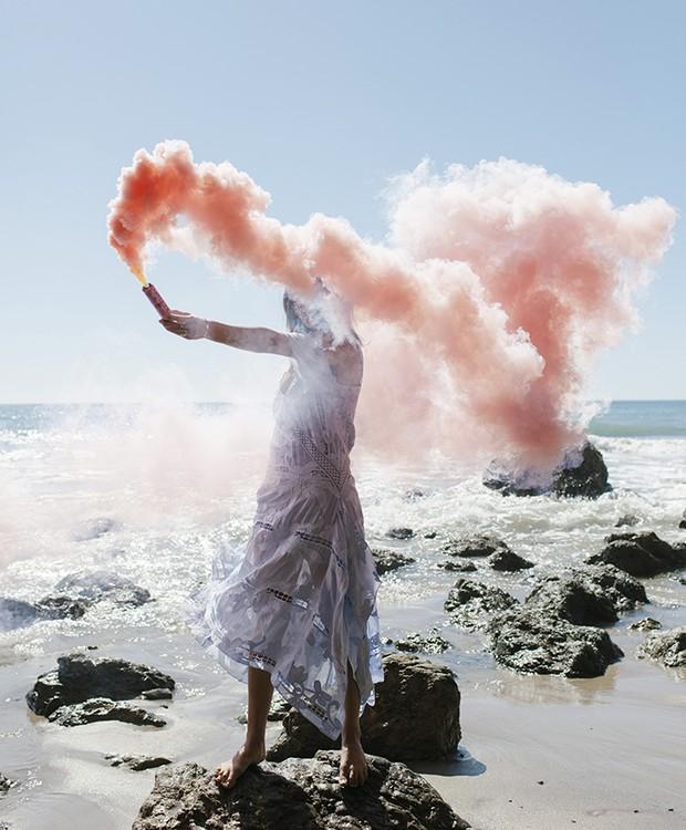 Seja princesa ou rainha dos sete mares com esse clique na praia (Foto: Pinterest/ Reprodução)
