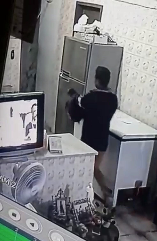 Homem entrou no quarto da mulher e efetuou os disparos. — Foto: Reprodução/TV Verdes Mares