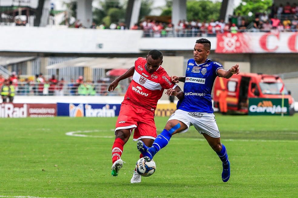 Edson Henrique volta ao time — Foto: Ailton Cruz - Gazeta de Alagoas