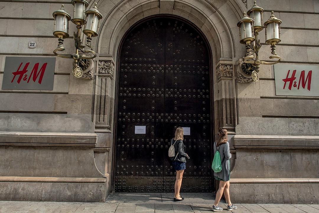Epidemia do engajamento - A fast fashion H&M fechou mais de 300 lojas em 13 paÍses  (Foto: Divulgação)