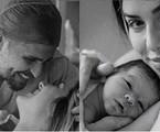 Bruno Gagliasso e Giovanna Ewbank levaram fotógrafa para registrar o nascimento de Zyan | Reprodução/Instagram Giovanna Ewbank