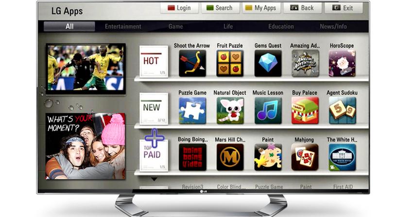 Como baixar ou ver filmes online nas Smart TVs da LG