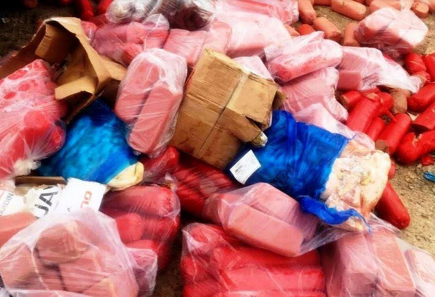 Visa Manaus apreende 1 tonelada de carne imprópria para consumo em fábrica  - Noticias