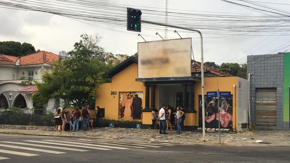 Empresa de eventos fica na esquina do cruzamento entre as Avenidas desembargador Bôto de Menezes e Monsenhor Walfredo Leal, em João Pessoa (Foto: Gabriel Costa/G1)
