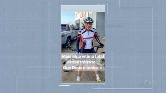Ciclista morre após ser atropelado enquanto pedalava com amigos na GO-469, em Abadia de Goiás