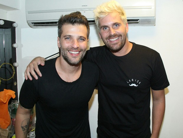 Bruno Gagliasso e Thiago Gagliasso (Foto: Wallace Barbosa/AgNews)