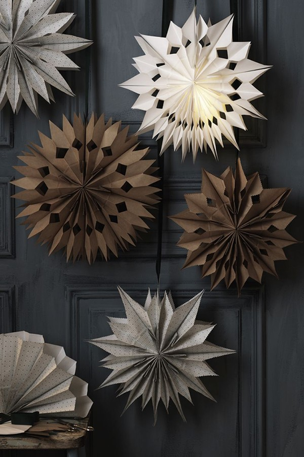 Estrelas de Natal: 7 formas de usar no décor (Foto: Reprodução / Pinterest)