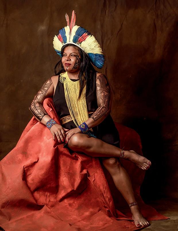 Sônia Guajajara (Foto: Julia Rodrigues )