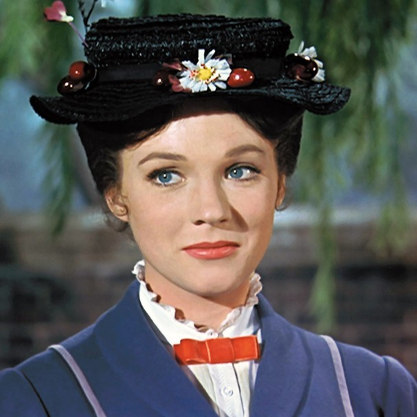 MARY POPPINS, Julie Andrews, 1964 (Foto: Courtesy Everett Collection)