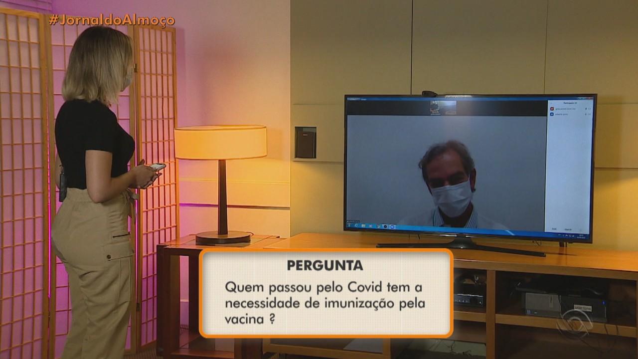 Especialistas esclarecem dúvidas dos telespectadores sobre a vacina contra a Covid-19