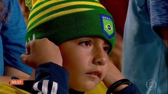 Brasil perde para o Peru em amistoso; confira os melhores momentos da partida