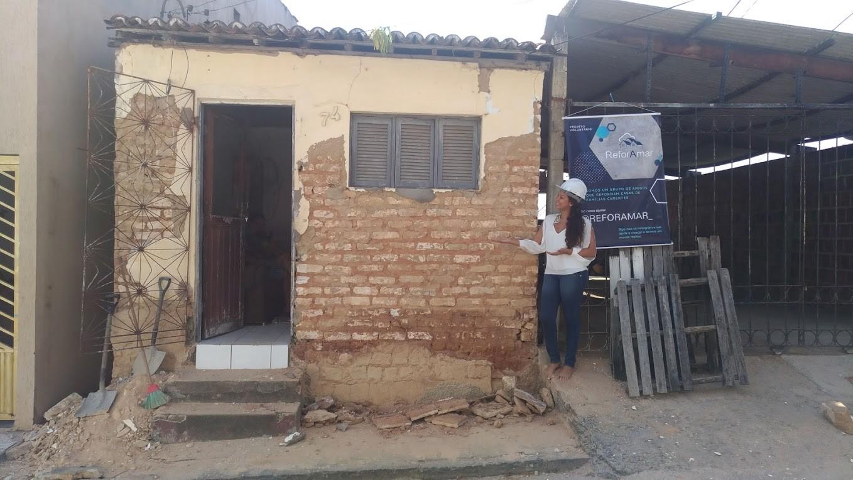 Sonho de morar em casa sem goteiras vira projeto social de jovem potiguar que reforma imóveis