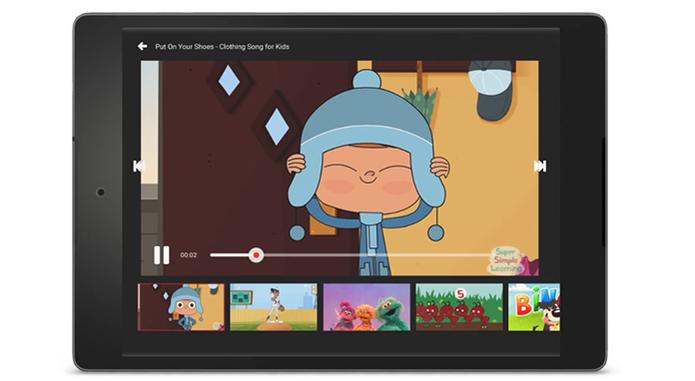 Vídeos para crianças do YouTube Kids (Foto: Divulgação/YouTube)