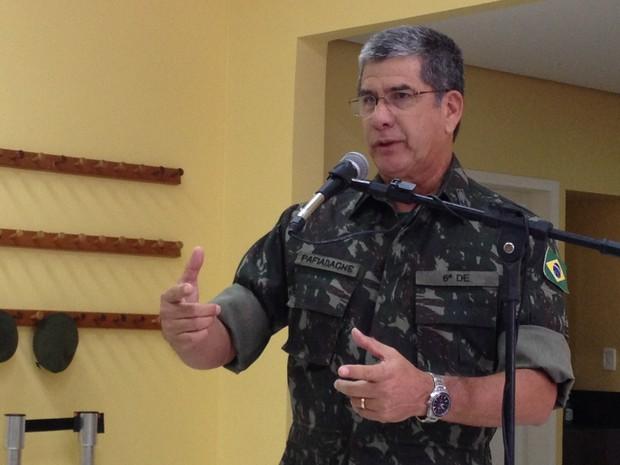 Operação das Forças Armadas atuará durante a Copa do Mundo em Porto Alegre (Foto: Rafaella Fraga/G1)