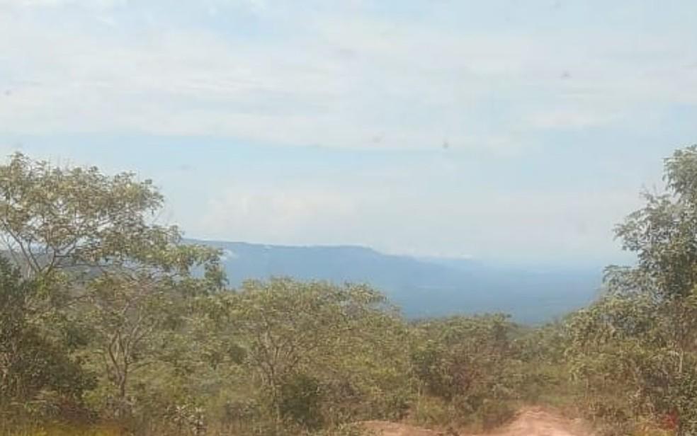 Parte de terras disputadas na Justiça Chapada dos Veadeiros, em Alto Paraíso Goiás — Foto: Reprodução/Arquivo pessoal