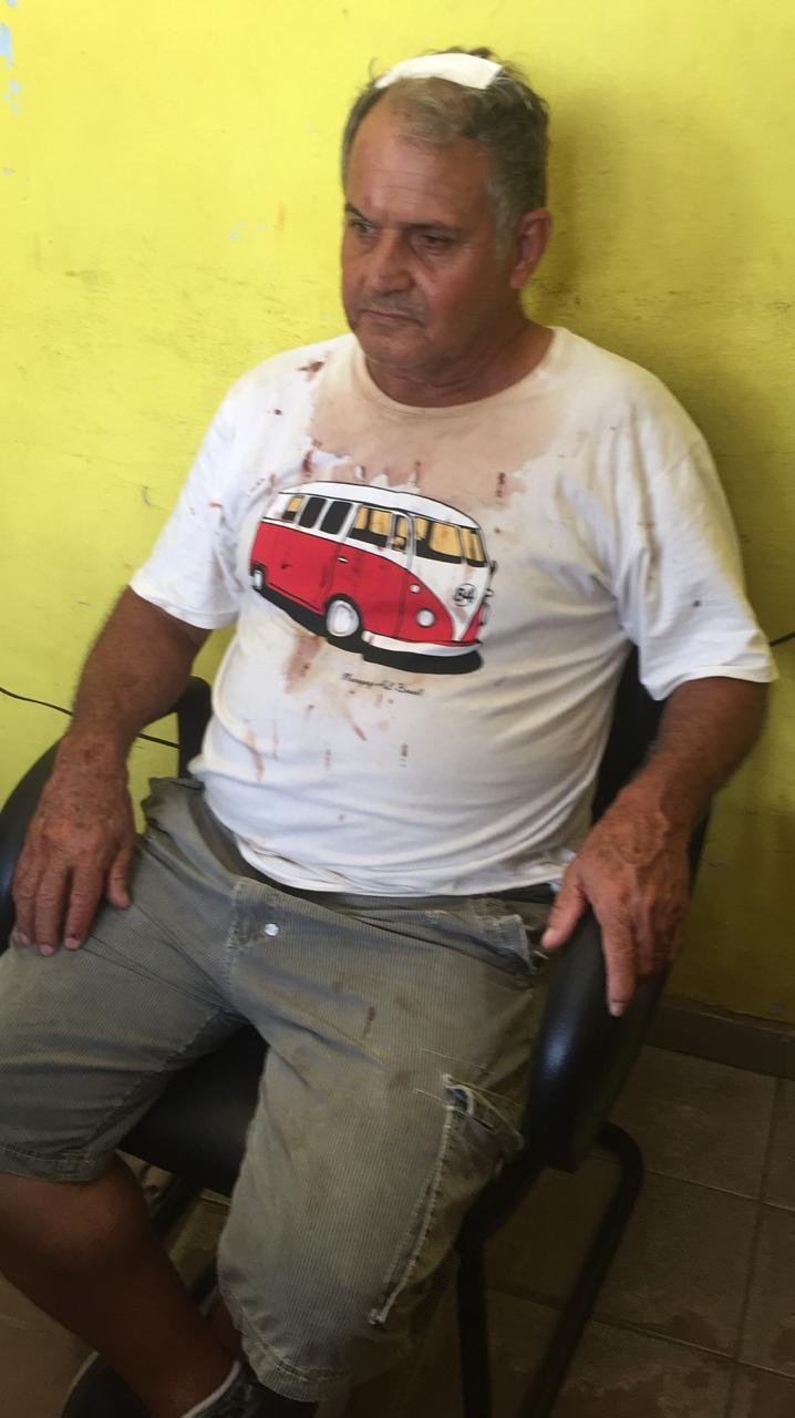 Dono de estacionamento denuncia cliente por agressão depois de parar no local e sair sem pagar em Cuiabá