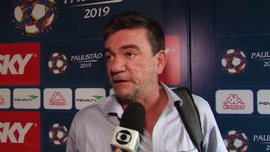 Presidente do Corinthians, Andrés Sanchez questiona VAR, alfineta Palmeiras e fala de Diego Tardelli