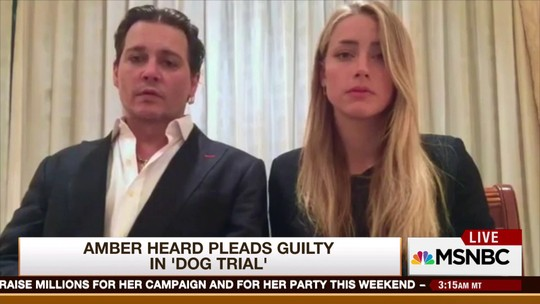 Johnny Depp e Amber Heard viram piada por vídeo pedindo desculpa
