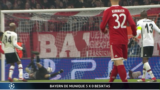 Veja os gols e a análise de Chelsea 1 x 1 Barcelona e Bayern 5 x 0 Besiktas