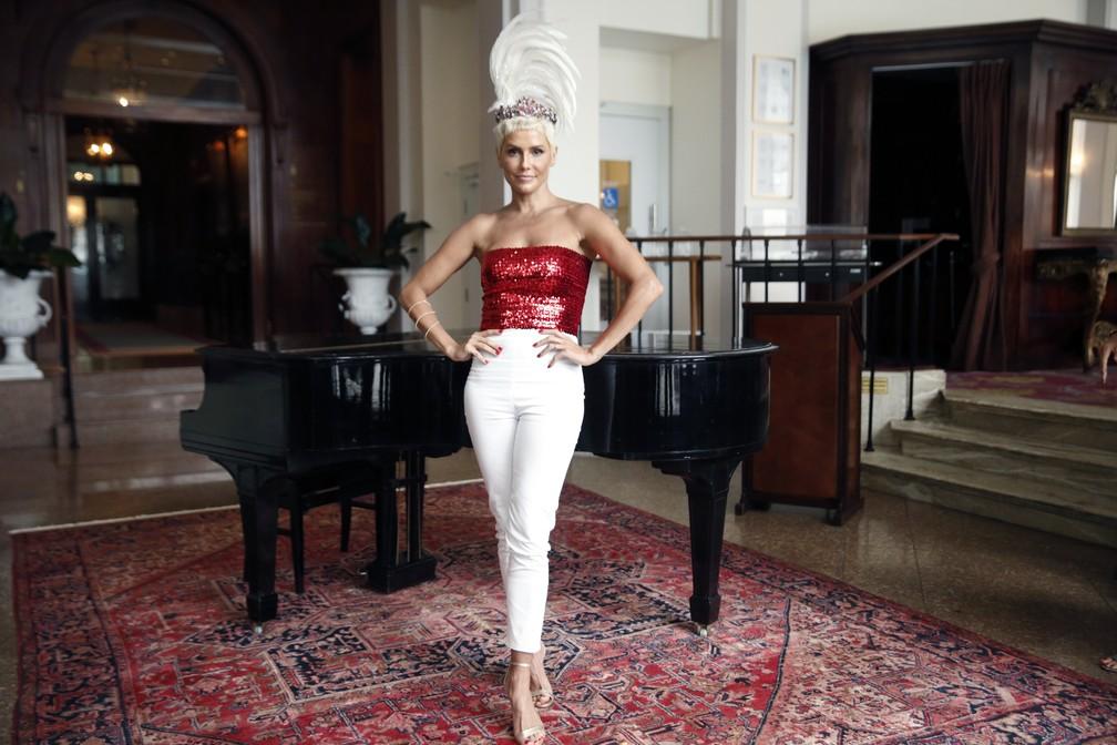 Deborah Secco será rainha do Baile do Copacabana Palace em 2019 — Foto: Jorge Soares/ G1