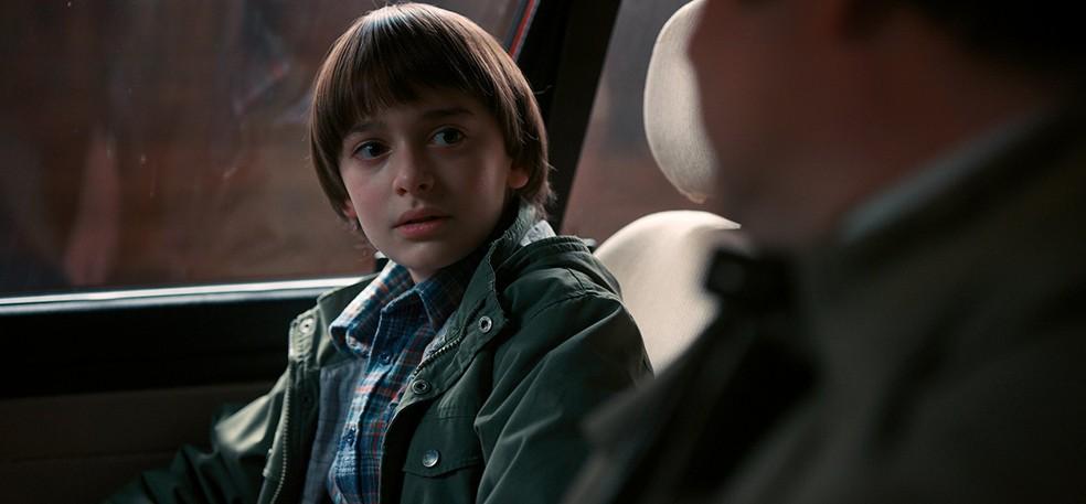 Noah Schnapp em cena de 'Stranger Things' — Foto: Divulgação