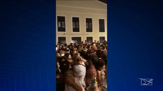 Tumulto é registrado após show da cantora Marília Mendonça em São Luís