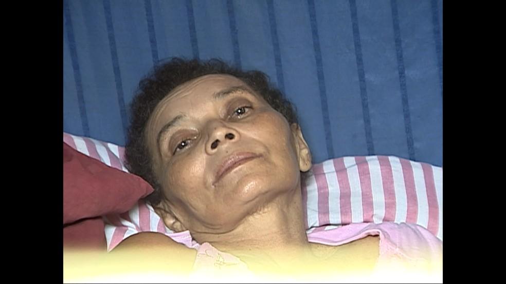 Maria Rita foi confundida com outra paciente e dada como morta (Foto: Reprodução / TV Globo)