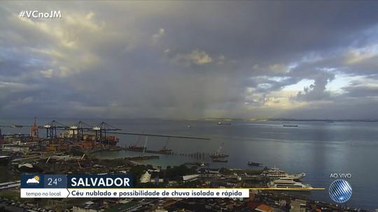 Veja a previsão do tempo para a capital e cidades do interior da Bahia