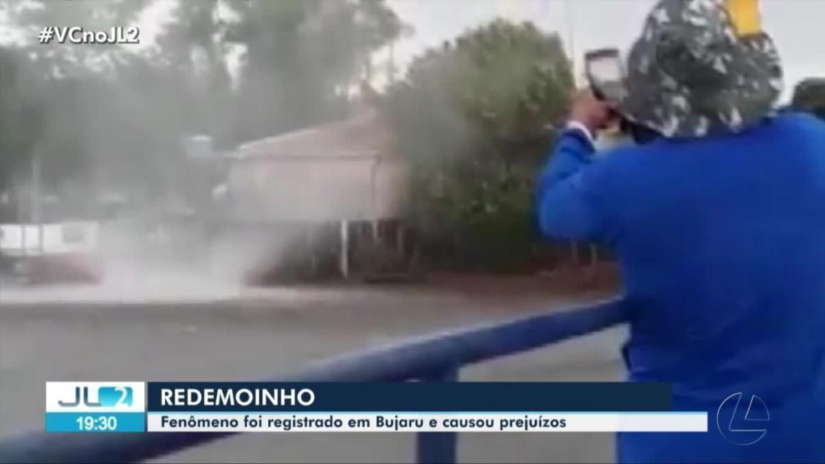 Formação de redemoinho de vento atinge Bujaru e Inhangapi, no Pará