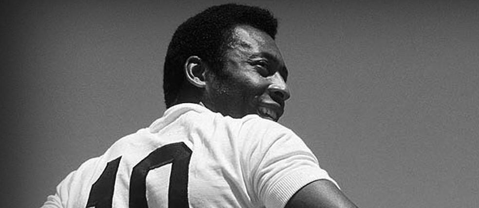 Pelé — Foto: O mito: o dia será pequeno para tantas homenagens a Pelé
