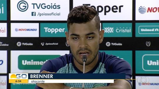 Artilheiro no Botafogo, Brenner busca no Goiás retomar o início promissor que teve no Inter