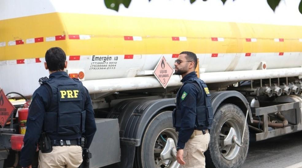 PRF registra 39 acidentes com 2 mortes durante feriado prolongado em rodovias na BA; número de óbitos caiu 75% — Foto: Divulgação/PRF