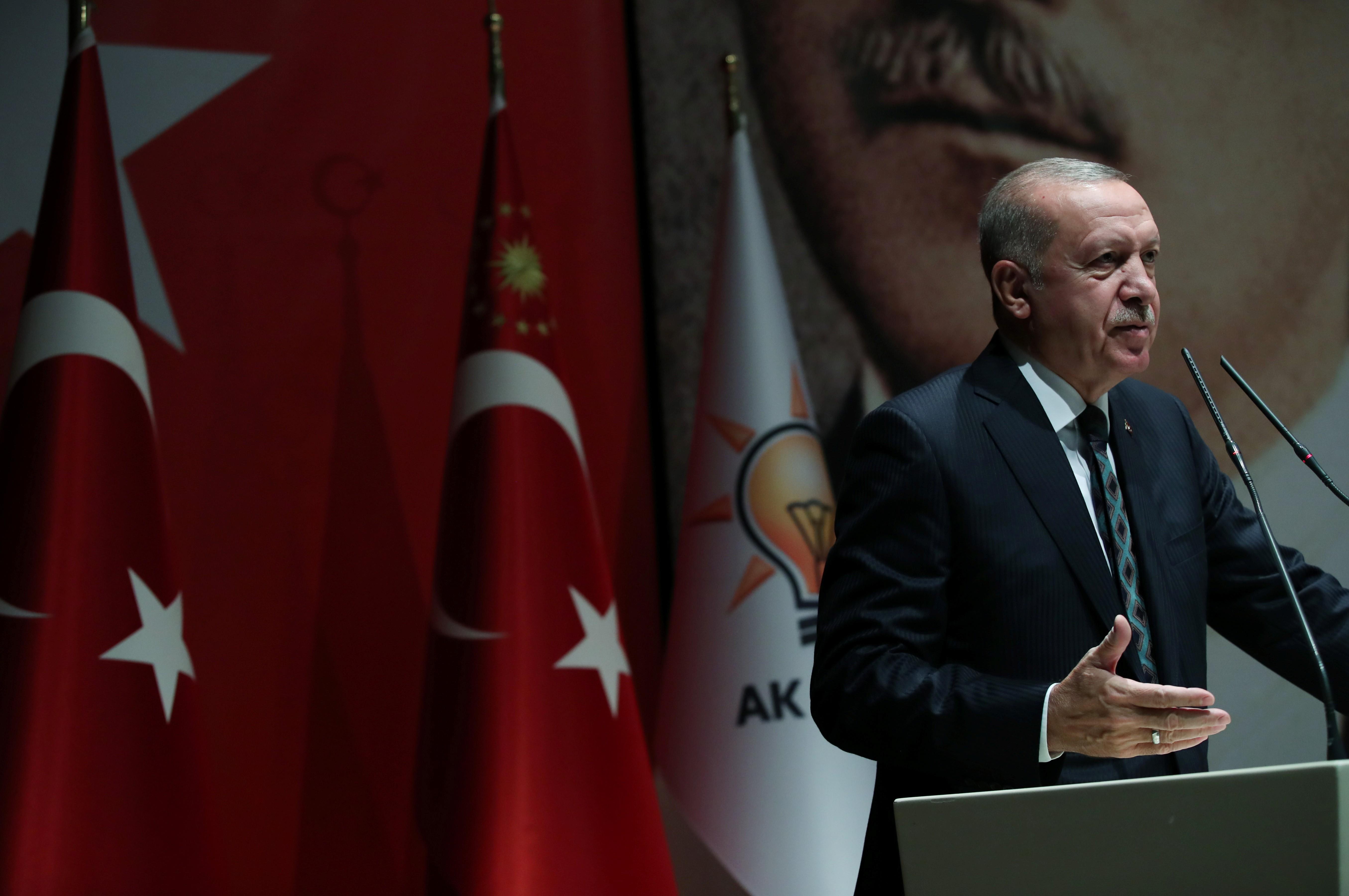 2019 10 10t105745z 183942370 rc140f2b69a0 rtrmadp 3 syria security turkey erdogan   urandir   MUNDO   Erdogan, da Turquia, ameaça a Europa com fluxo de migrantes em resposta às críticas por ofensiva na Síria