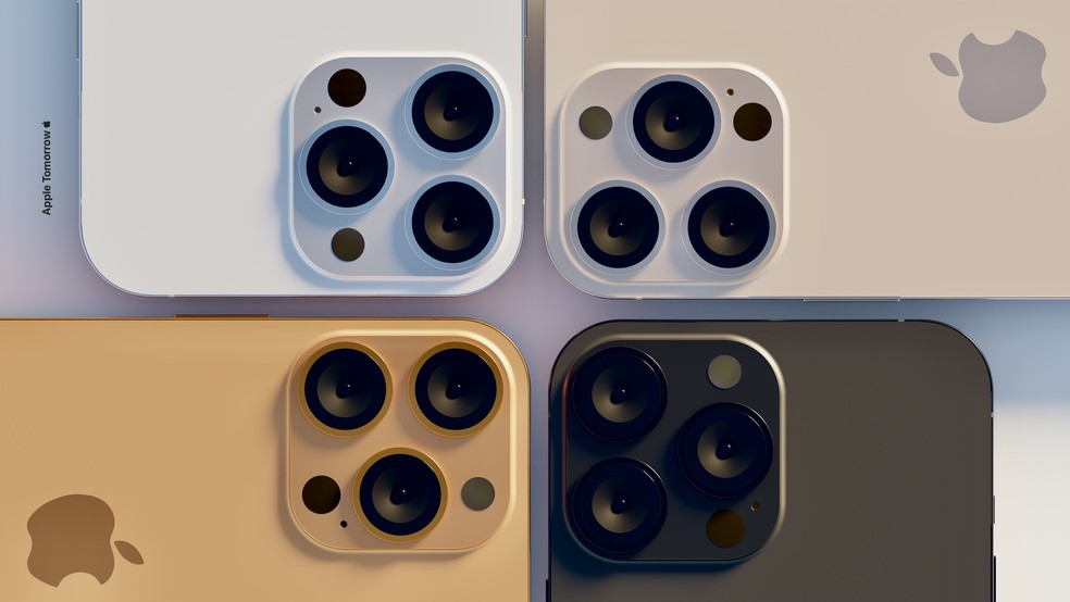 iPhone 13 to bring new colors — Photo: Reproduction/Apple Tomorrow