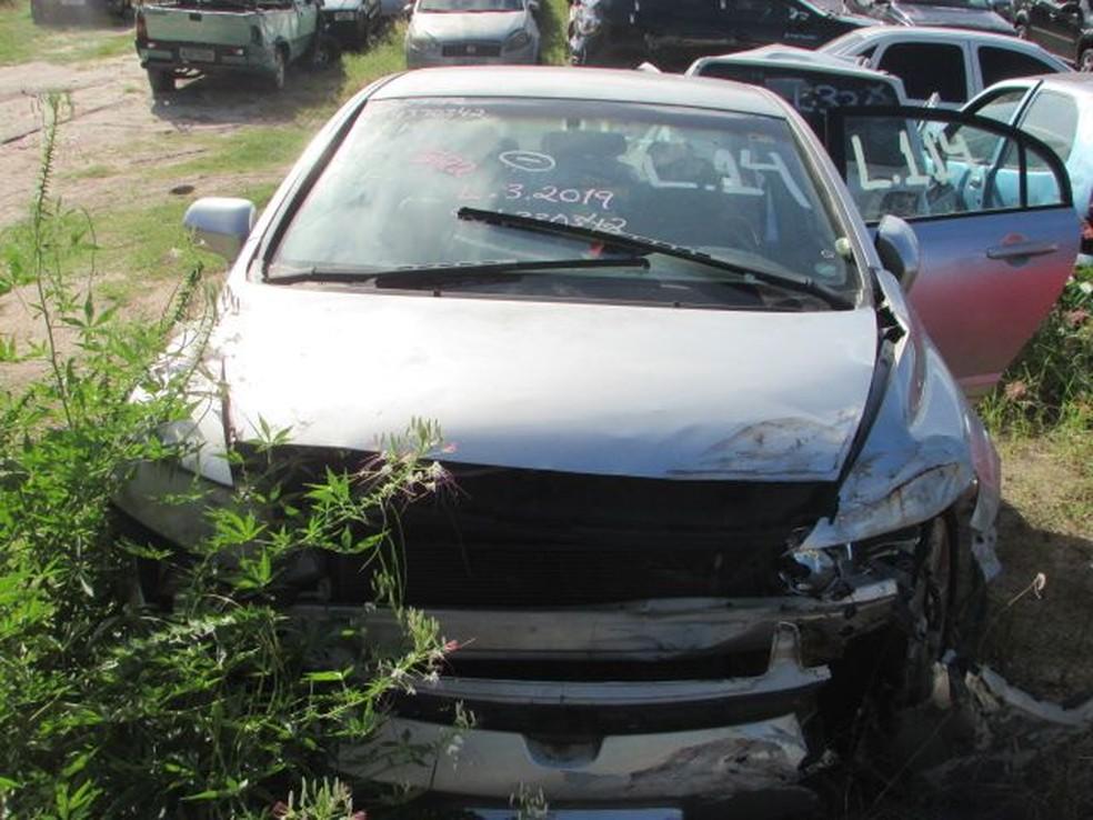 PRF vai leiloar carros apreendidos no RN — Foto: Divulgação