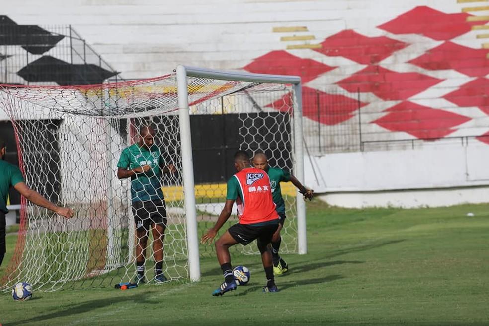 Treino Altos no Arruda — Foto: Luis Júnior/Altos
