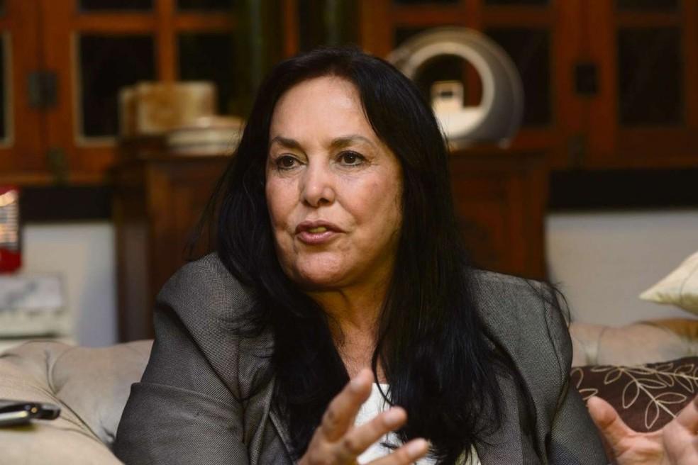 Senadora Rose de Freitas — Foto: Bernardo Coutinho/ A Gazeta