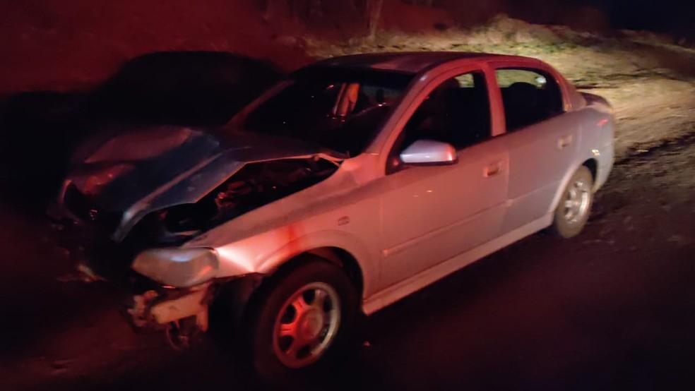 Acidente foi na Rodovia Comandante João Ribeiro de Barros (SP-294), em Junqueirópolis — Foto: Polícia Rodoviária