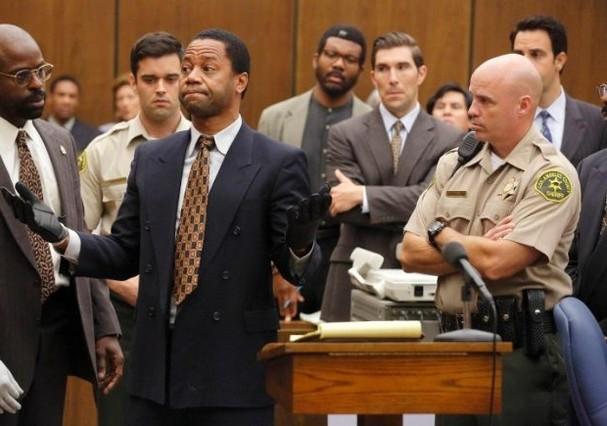 Cuba Gooding Jr. interpretou O.J. Simpson na série de TV (Foto: Reprodução)