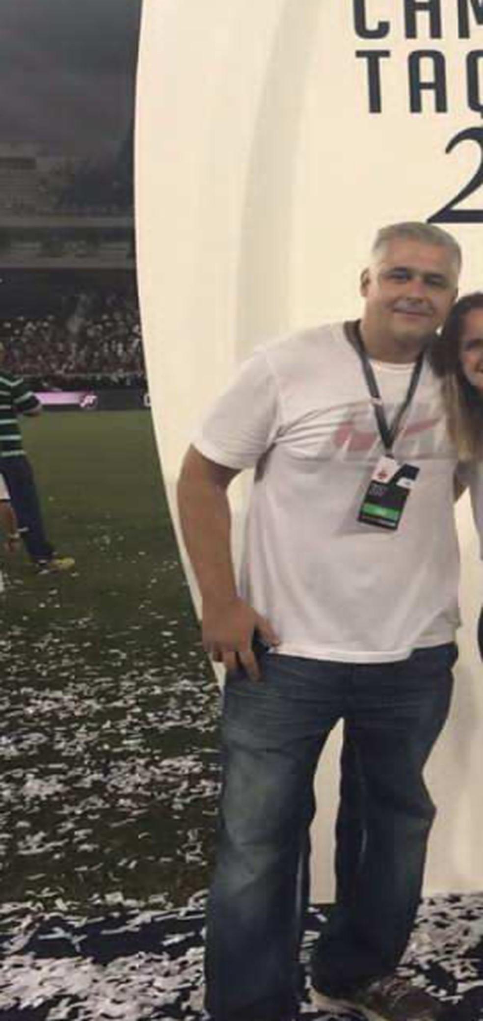 Alexandre na final da Taça Rio de 2017 — Foto: Reprodução