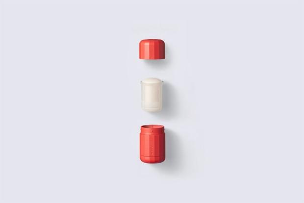Desodorante vegano surpreende com embalagem bonita e sustentável (Foto: Divulgação)
