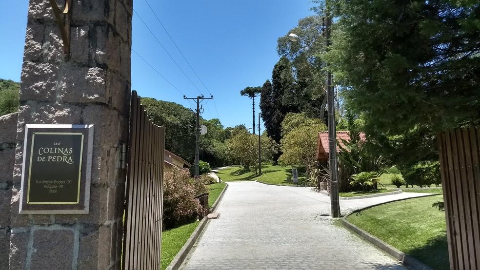Cave Colinas de Pedra fica em Piraquara, na Região Metropolitana de Curitiba — Foto: Thais Kaniak/G1 PR