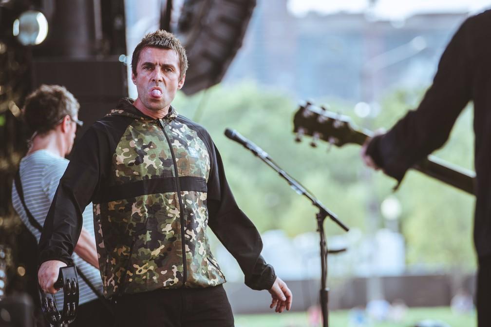 -  Liam Gallagher no Lollapalooza  Foto: Divulgação