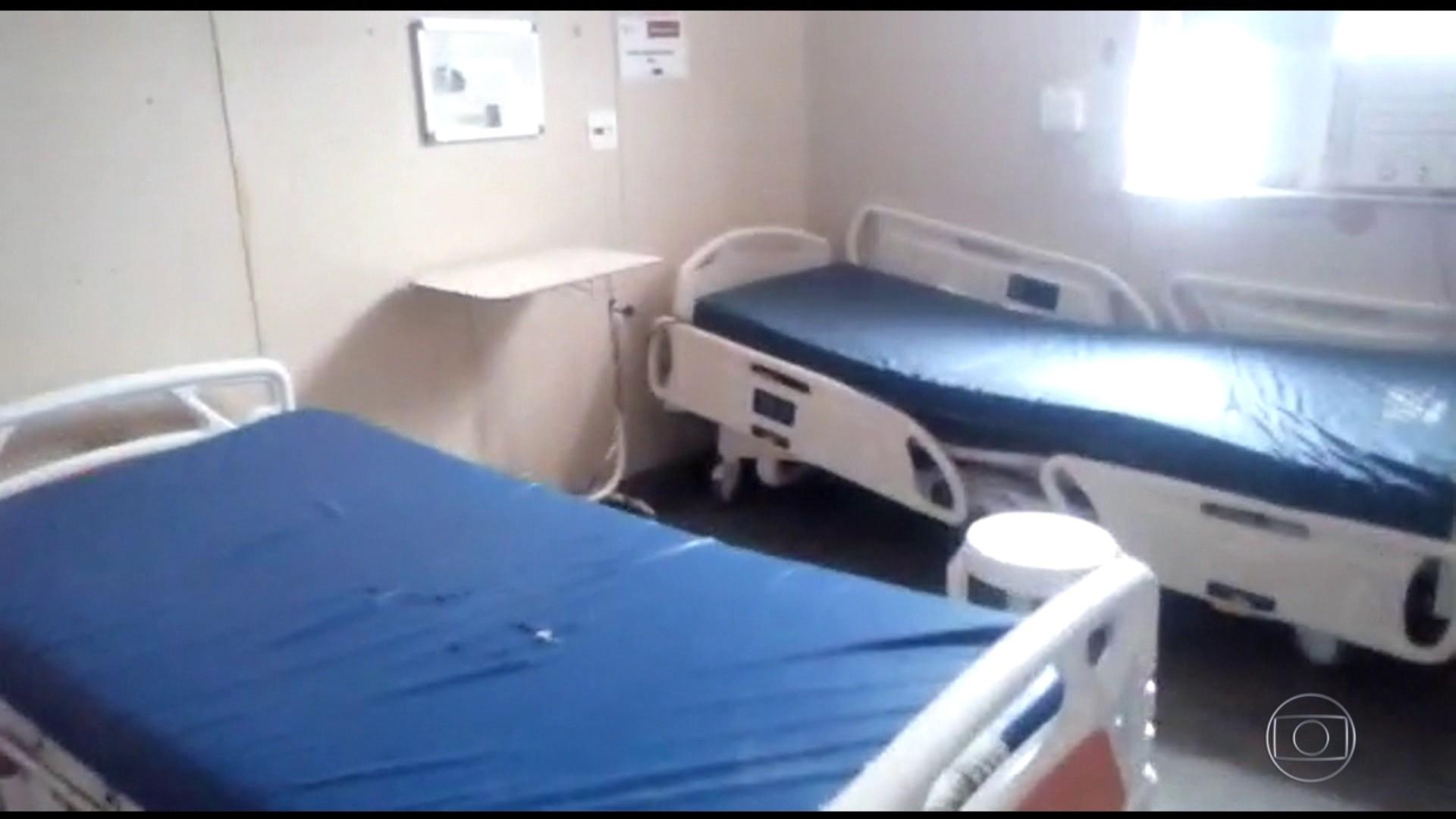Funcionários denunciam fechamento de 20 leitos de UTI em hospital da Zona Oeste do Rio