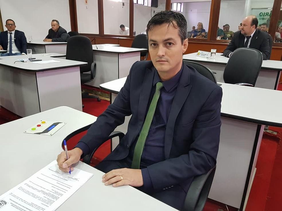 Rogério França (PV) diz que menção a Cuiabá como destino é enganosa — Foto: Divulgação