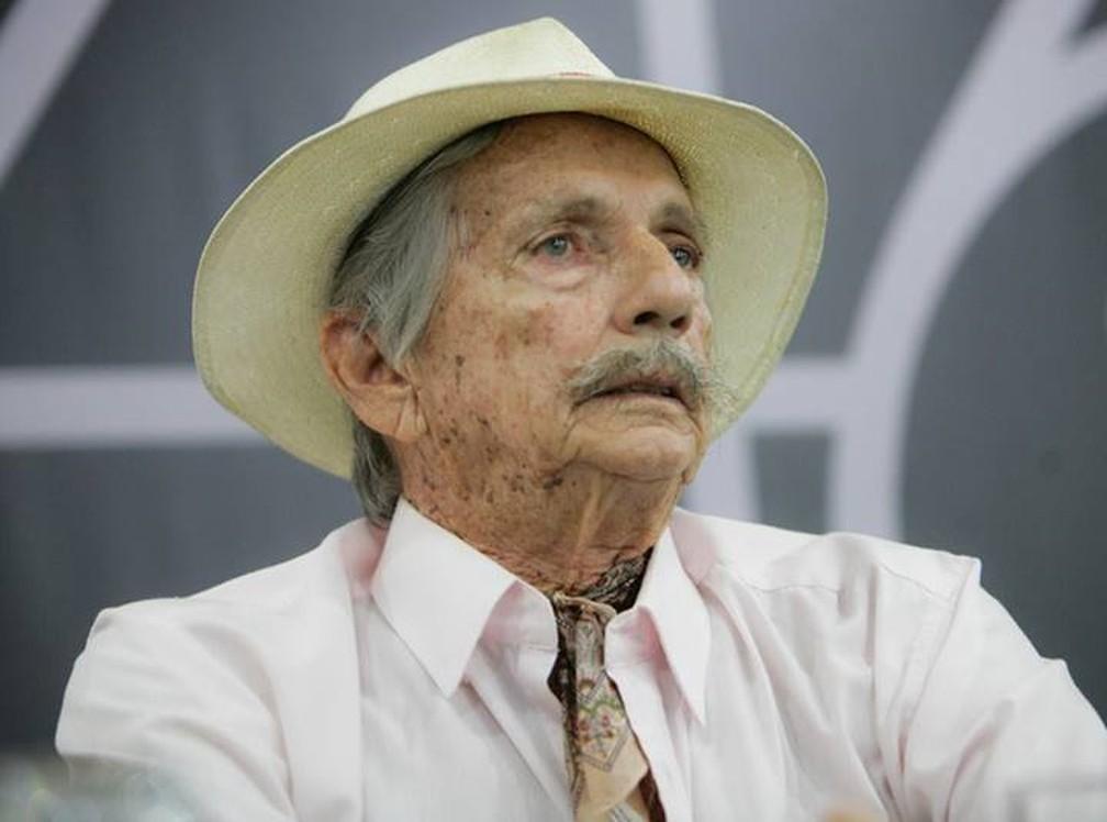Ator Joel Barcellos morreu na madrugada de sábado (10) em Rio das Ostras, no RJ — Foto: Divulgação/Centro Cultural de Visconde de Mauá